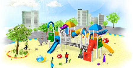 Как оборудовать детскую развлекательную площадку