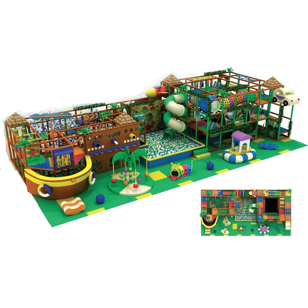Проект дизайна детского игрового комплекса 010А