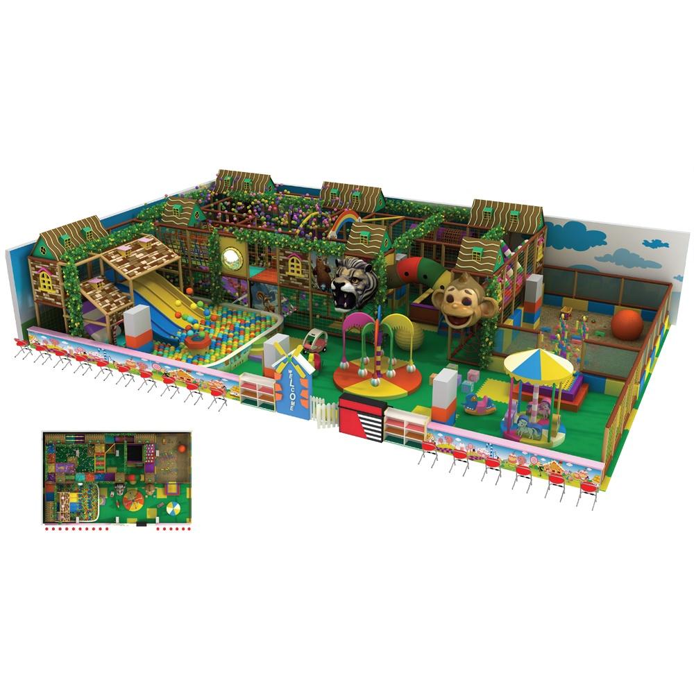 Проект дизайна детского игрового комплекса 013А