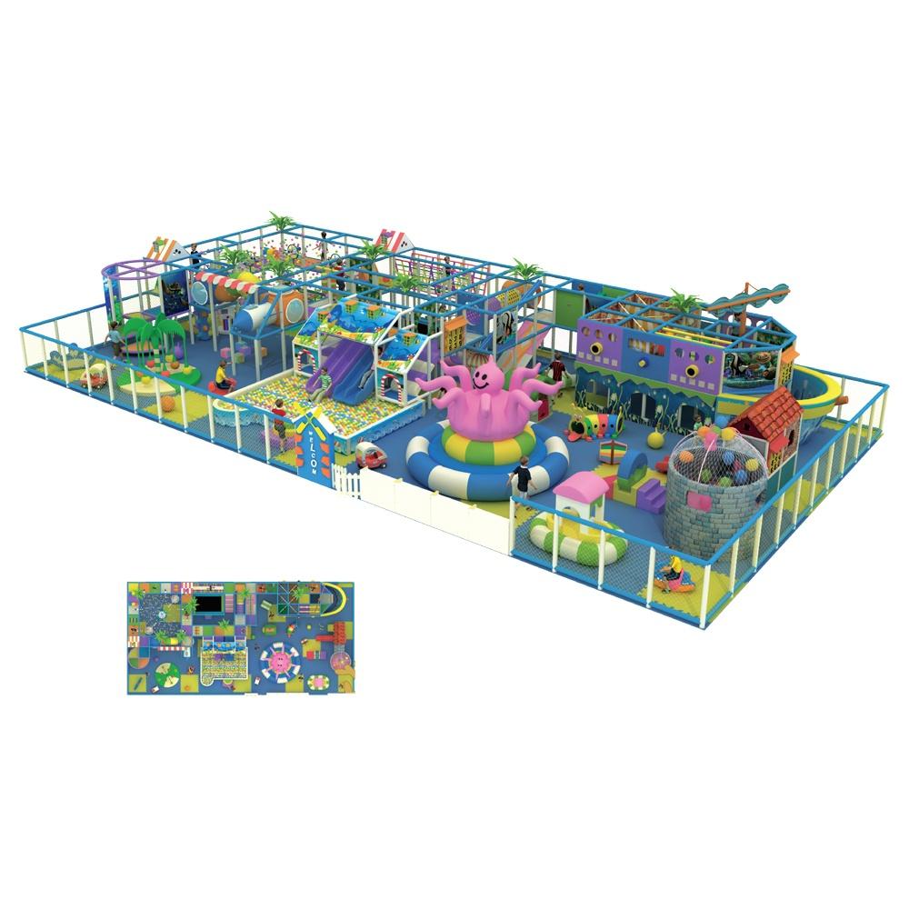 Проект дизайна детского игрового комплекса 029А