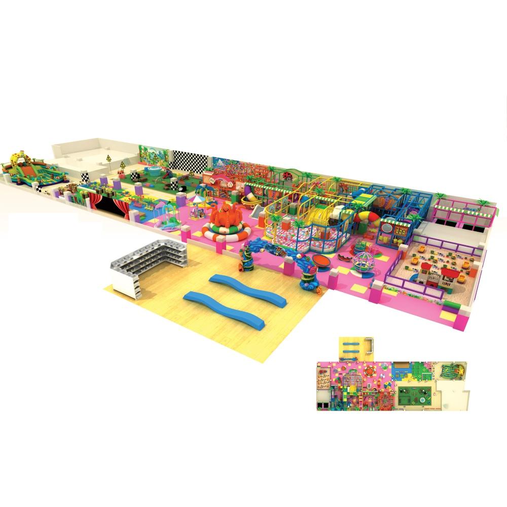 Проект дизайна детского игрового комплекса 042А