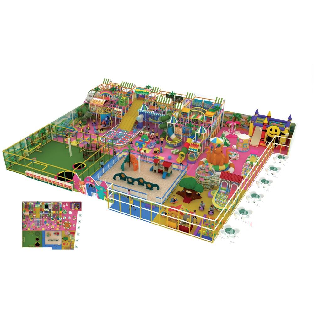 Проект дизайна детского игрового комплекса 044А