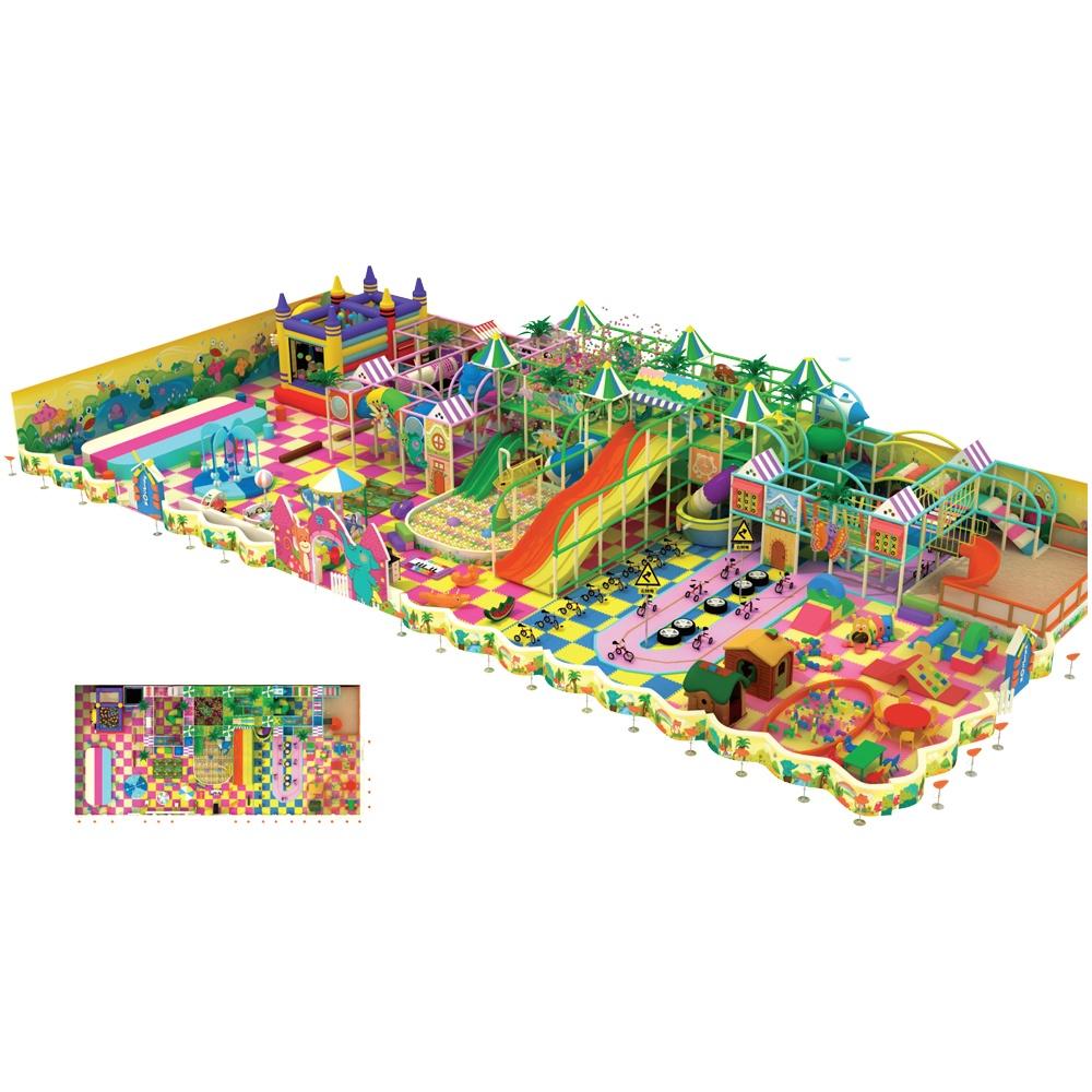 Проект дизайна детского игрового комплекса 052А