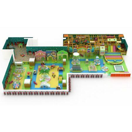 Проект дизайна детского игрового комплекса 001К