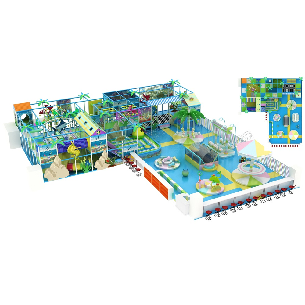 Проект дизайна детского игрового комплекса 010К
