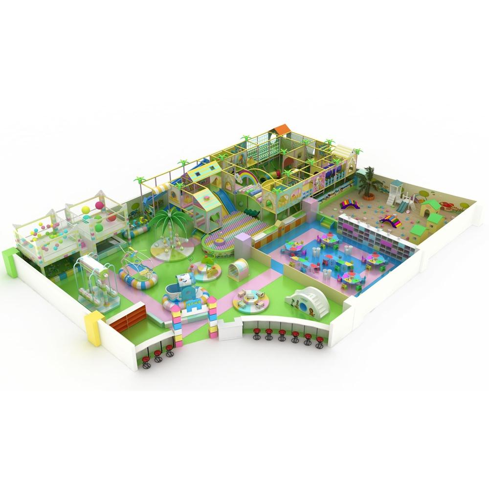 Проект дизайна детского игрового комплекса 011К
