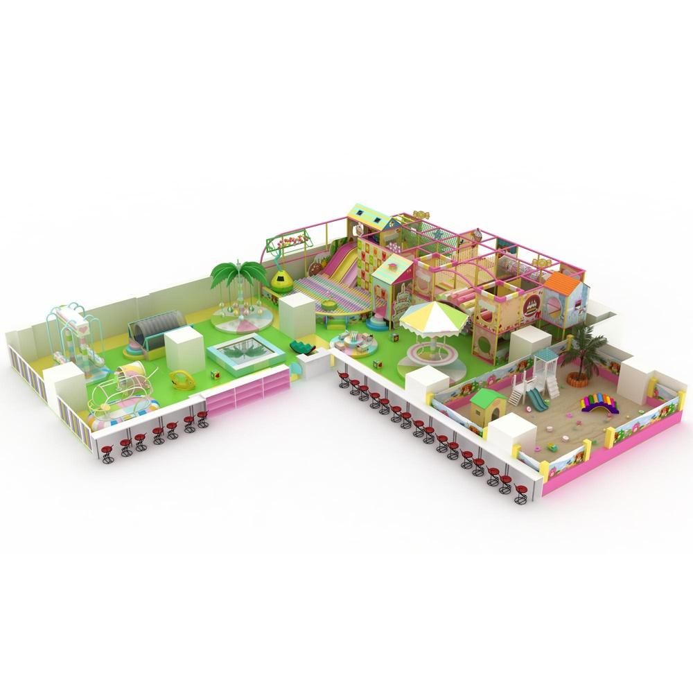 Проект дизайна детского игрового комплекса 012К