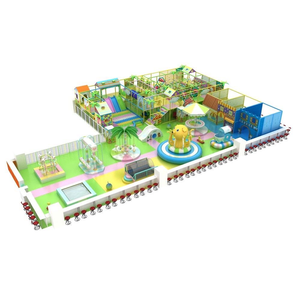 Проект дизайна детского игрового комплекса 014К