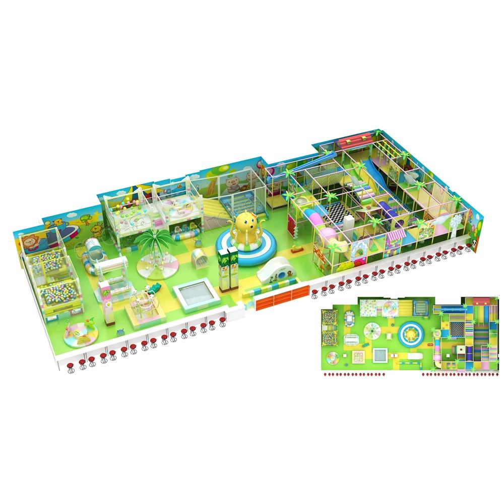 Проект дизайна детского игрового комплекса 015К