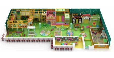 Проект дизайна детского игрового комплекса 003К