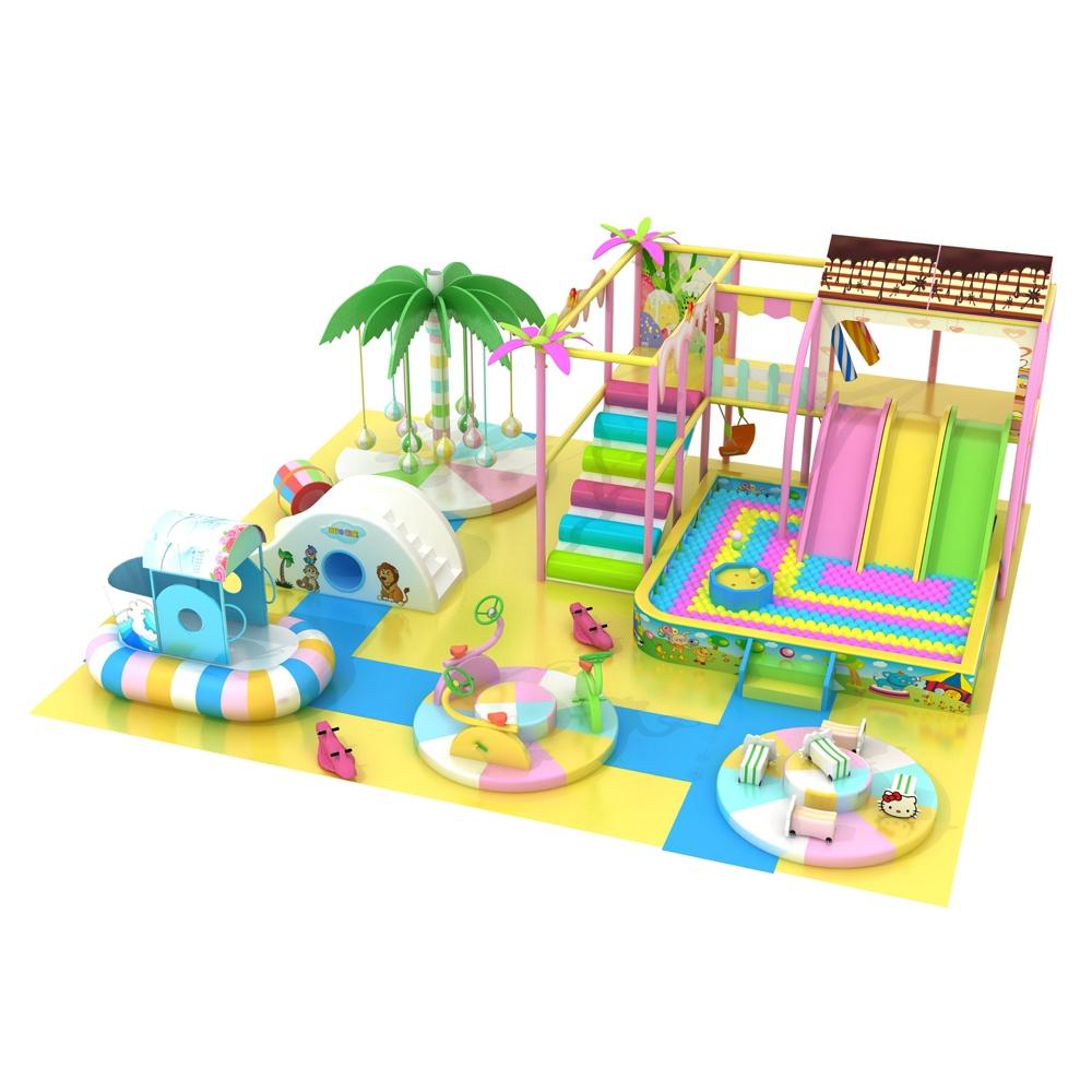 Проект дизайна детского игрового комплекса 004К