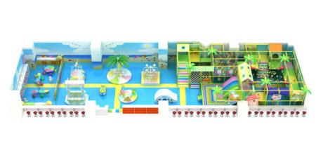 Проект дизайна детского игрового комплекса 005К