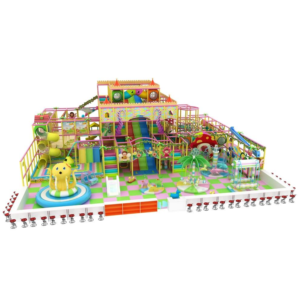 Проект дизайна детского игрового комплекса 006К