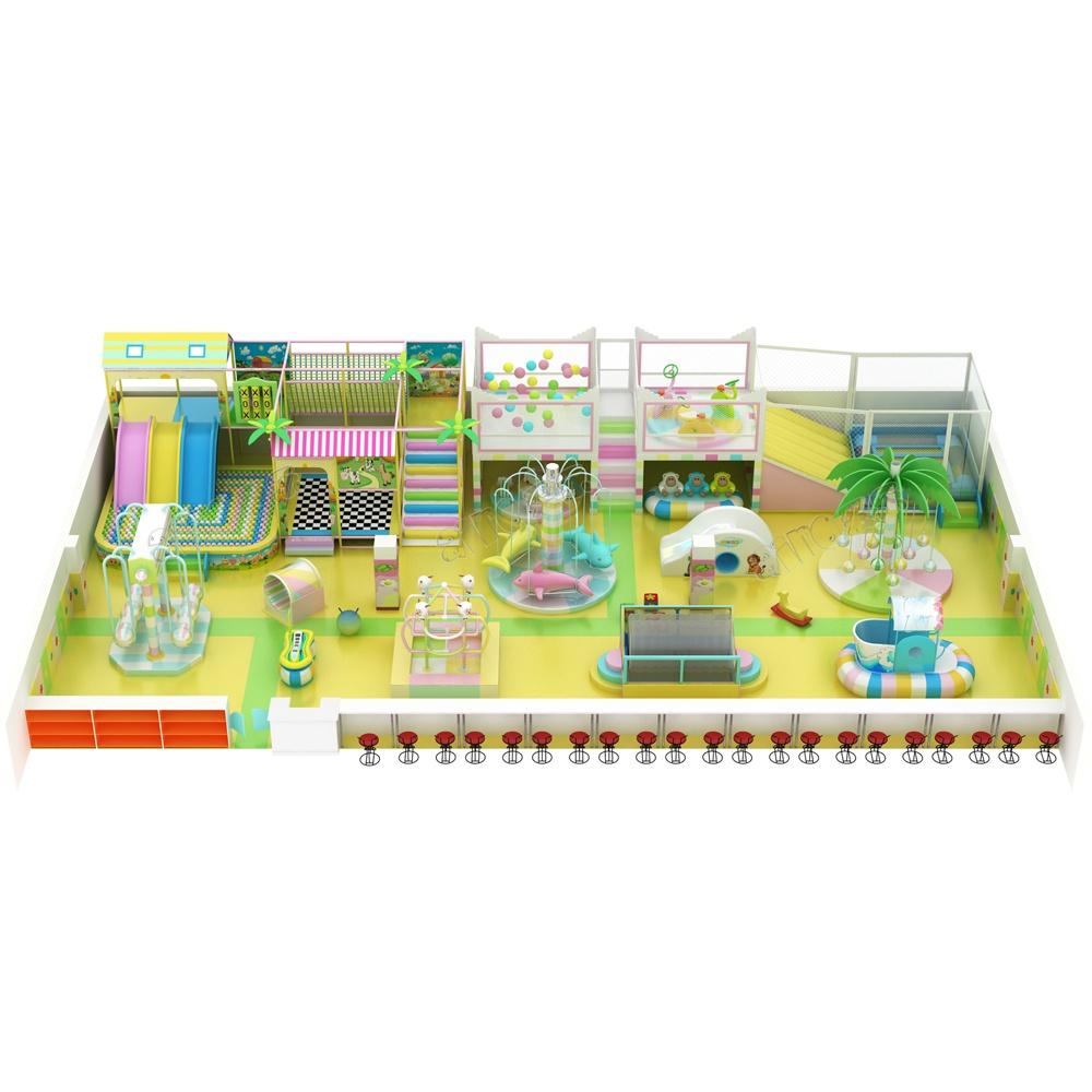 Проект дизайна детского игрового комплекса 007К