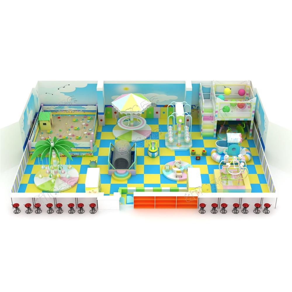 Проект дизайна детского игрового комплекса 008К