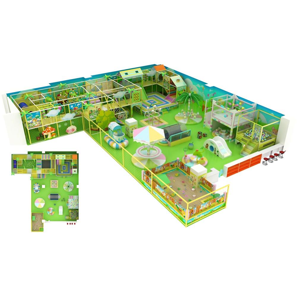 Проект дизайна детского игрового комплекса 009К