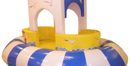 Мягкий модуль Кораблик для детских игровых комнат Мягкие модули детские игровые модули, игровые мягкие модули для детей