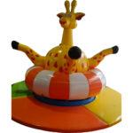 Мягкий модуль Осьминог для детских игровых комнат