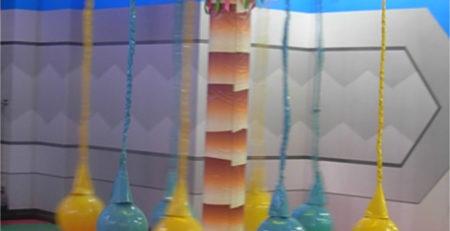 Мягкий модуль Пальма для детских игровых комнат