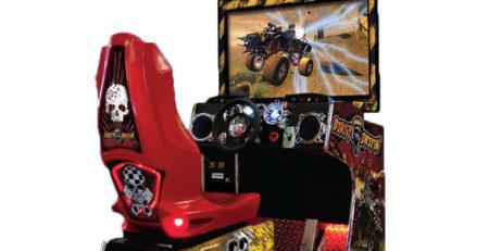 Авто симулятор Dirty Drivin' игровые развлекательные автоматы