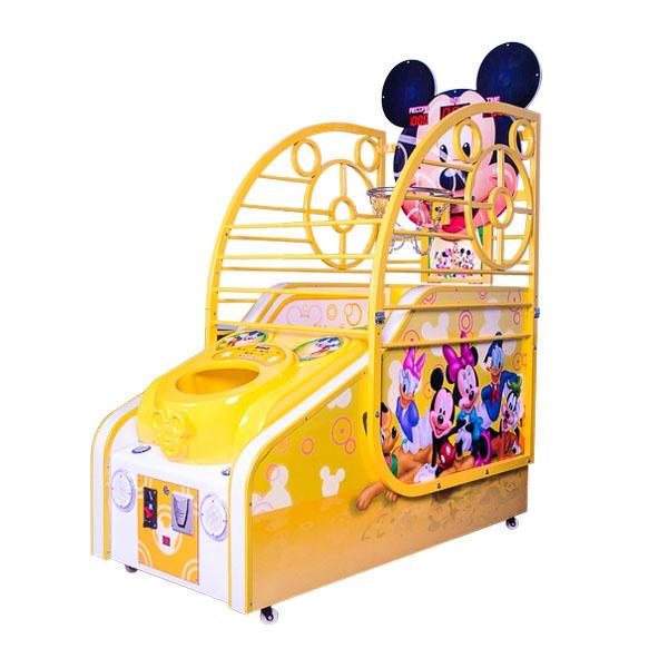 Развлекательный автомат редемпшн с выдачей билетов Баскетбол Микки