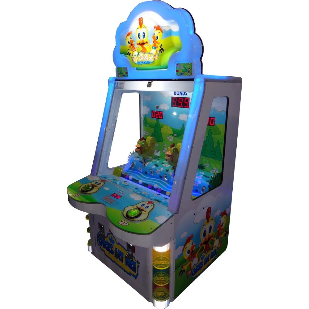 Развлекательный автомат редемпшн с выдачей билетов Цыплята
