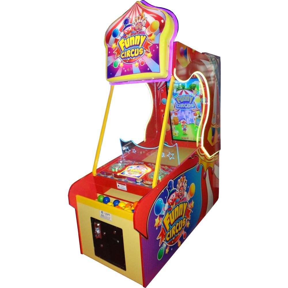 Развлекательный автомат редемпшн с выдачей билетов Цирк