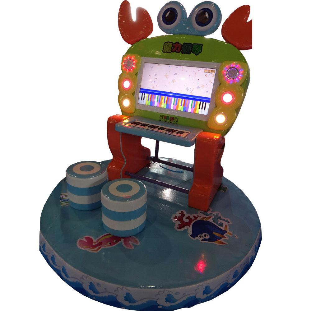 Мягкий модуль Music Crab для детских игровых комнат