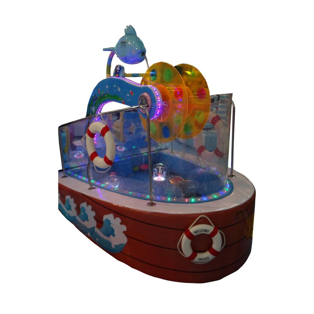 Мягкий модуль Water Bike для детских игровых комнат