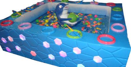 Детский аттракцион Рыбалочка: Дельфин