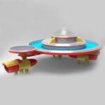 Детская песочница Летающая тарелка