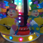 Детская карусель на 8 мест Клоун 2