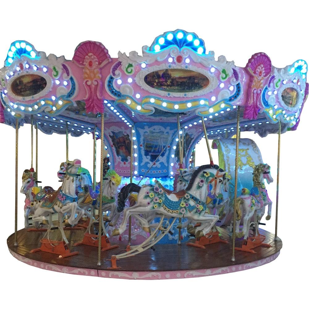 Детская карусель на 16 мест Веселая карусель