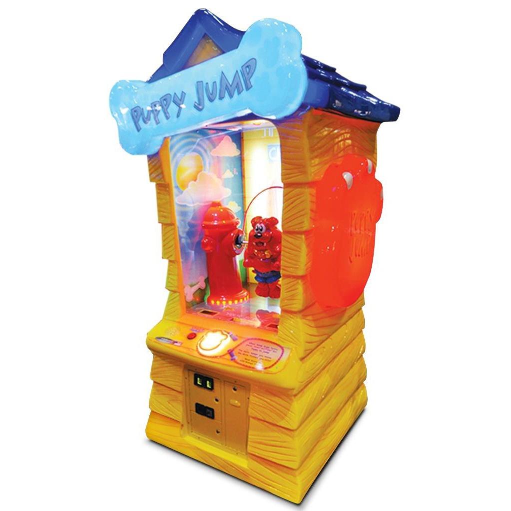 Развлекательный автомат редемпшн с выдачей билетов Прыгающий Щенок