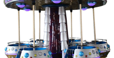 Оборудование для детских аттракционов – Летающие тарелки