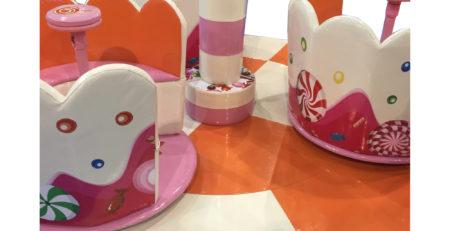 Мягкий модуль Тортик для детских игровых комнат