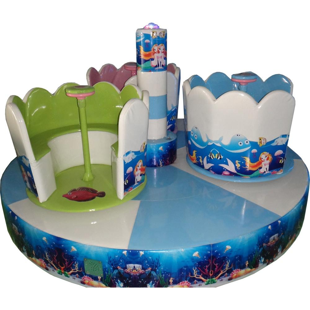 Мягкий модуль Русалочка для детских игровых комнат