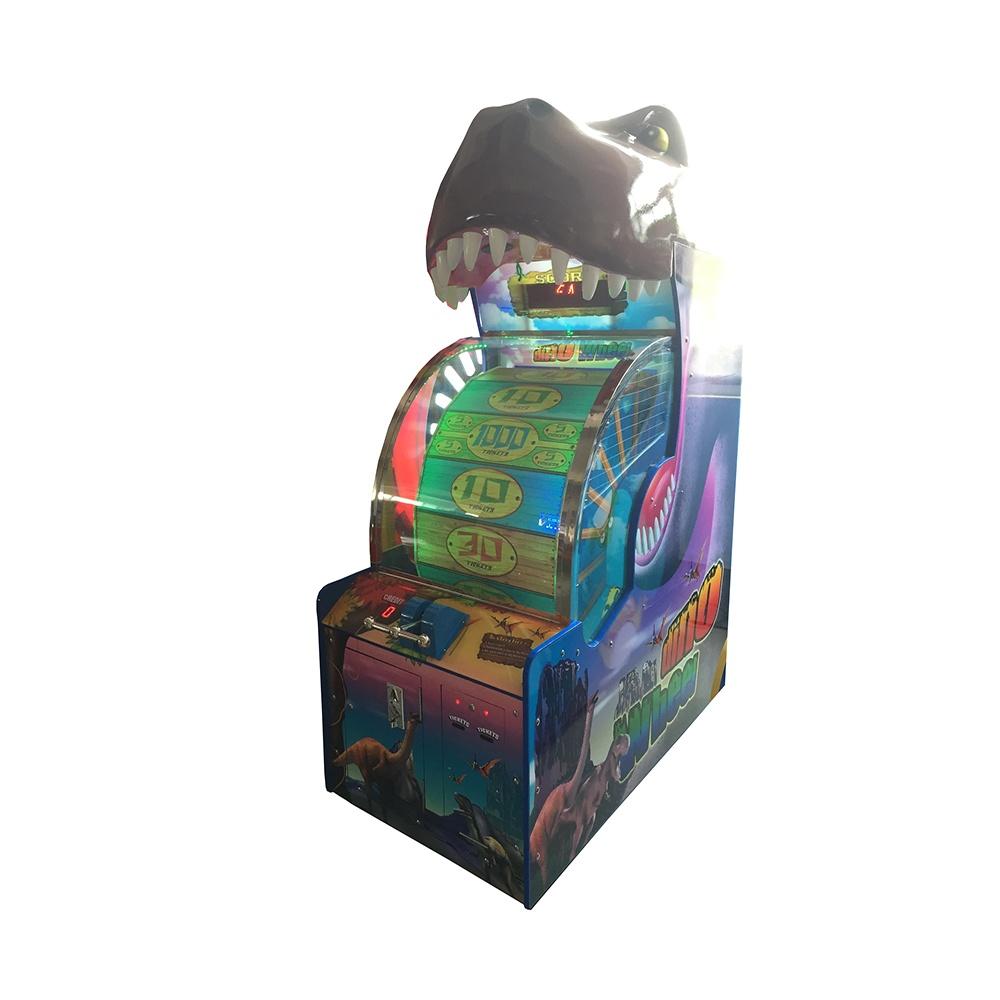 Развлекательный автомат редемпшн с выдачей билетов Dino Wheel