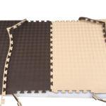 Модульное напольное покрытие Цвет: кофе-сливки Толщина 2 см