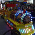 Купить аттракцион Детская железная дорога на пневмоходу