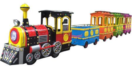 Детская железная дорога на пневмоходу