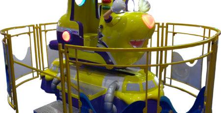 Купить детскую премиум-качалку Желтая подлодка