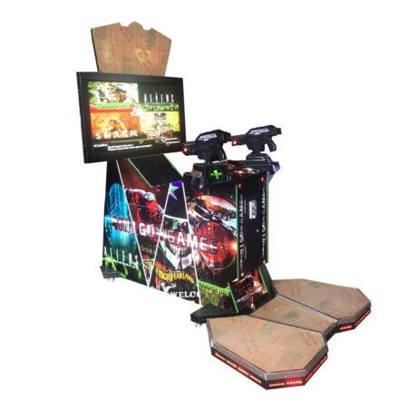 Симулятор стрельбы 4 in 1 Gun Game Аттракцион для детей