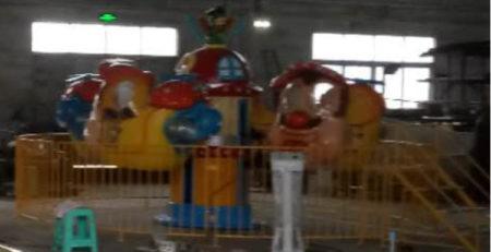 Детская карусель на 8 мест Веселые Вертолеты 2