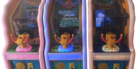 Развлекательный автомат редемпшн с выдачей билетов Стрелялки шариками