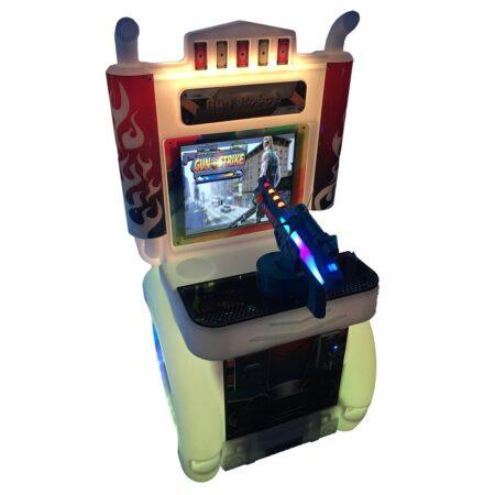 Развлекательный автомат редемпшн с выдачей билетов Стреялка/Гонка/Рыбалка