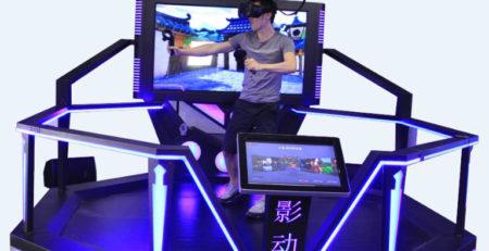 Купить Аттракцион Виртуальная реальность VR Super Hero в Украине