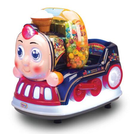 Купить аттракцион Детская мини-качалка Паровозик Экспресс