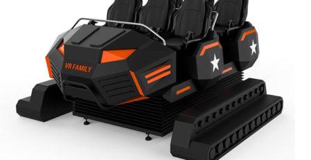 Купить Аттракцион Виртуальная реальность 9D VR Family в Украине