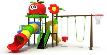 Купить детскую игровую площадку для улицы 89101 в Украине